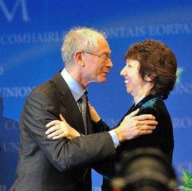 Herman Van Rompuy et Catherine Ashton, photo: Commission européenne