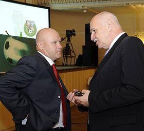 Ivan Hašek et Pavel Mokrý, photo: CTK
