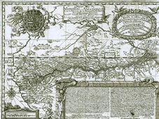 La carte géographique détaillée de l'Amazone de Samuel Fritz
