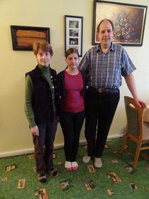 Barbara, Julia und Thomas Wendel (Foto: Christian Rühmkorf)