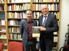 Manfred Weinberg und Lukáš Motyčka (Foto: Markéta Kachlíková)