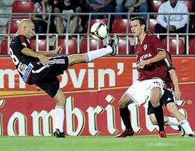 Sparta Prague - Viktoria Žižkov, photo: CTK