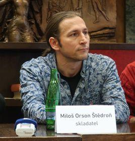 Miloš Orson Štědroñ, foto: Martina Schneibergová