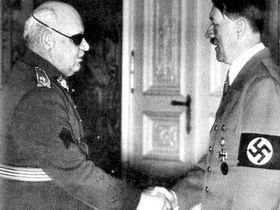 Ян Сыровы и Адольф Гитлер, фото: Архив Мартина Герзана
