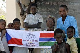 Foto: archivo del proyecto 'Bicicletas para África'