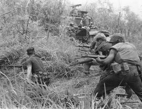 U.S. Marines in Vietnam War