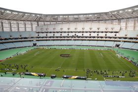 Stadion in Baku (Foto: ČTK / AP Photo / Dmitri Lovetsky)