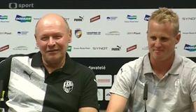 Miroslav Koubek y David Limberský, foto: ČT