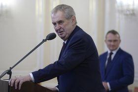 Miloš Zeman, photo: ČTK/Kateřina Šulová