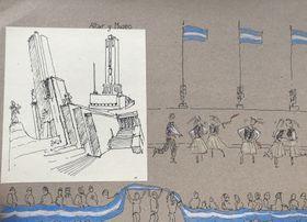 Rosario, dibujo de Vávra, foto: Juan Pablo Bertazza