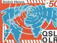 Radio Prague QSL card - 1970
