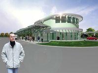 Stanice metra v Letňanech, projekt, zdroj: www.dp-praha.cz