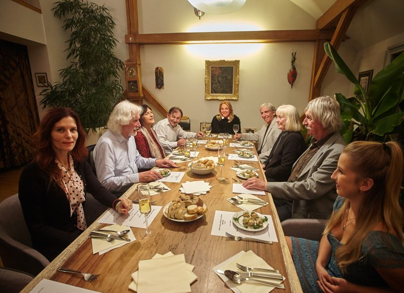 Званый ужин, подготовительная фаза издания кулинарной книги Вацлава Гавела, Фото: Ondřej Němec, 2019