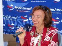 Livia Klausová, foto: Petra Sklenářová, Radiodifusión Checa