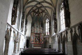 Royal chapel, photo: Ondřej Kořínek, CC BY-SA 3.0 Unported