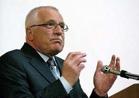Presidente de la República Checa, Václav Klaus (Foto: CTK)