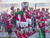 Le Slavia Prague est le nouveau champion de République tchèque de football, photo: ČTK