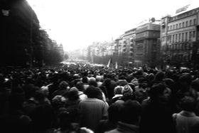 La Revolución de Terciopelo, foto: ŠJů, CC BY-SA 3.0 Unported