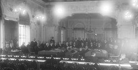 Sesión de la Sociedad de Naciones, fuente: CC BY-SA 3.0 de / Archivo Federal de Alemania