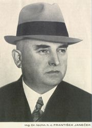 František Janeček, foto: archiv JAWA