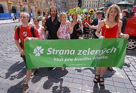 Katerina Jacques (au milieu), photo: CTK