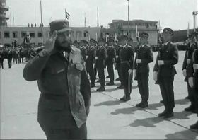 Фидель Кастро во время визита в ЧССР в 1972г., Фото: ЧТ