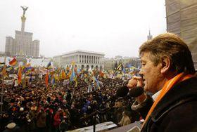 Viktor Yushchenko, Kiev, Ucrania (Foto: CTK)