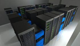 Визуализация остравского суперкомпьютера