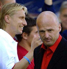 Horst Siegl and Michal Bilek, photo: CTK