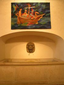"""Tapicería """"Viajes de Marco Polo""""           Foto: autor"""