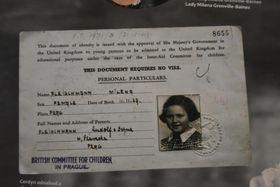 Jednou ze žákyň československé školy ve Walesu byla iMilena Grenville-Baines, foto: Jaromír Marek, archiv ČRo
