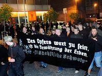 Défilé de néonazis à Ústí nad Labem, photo: CTK