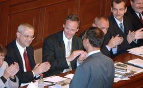 El gobierno de V.Spidla obtuvo la confianza de la Cámara Baja, foto: CTK