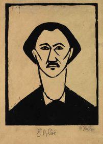 Otakar Kubín: Edgar Allan Poe (Foto: Archiv der Nationalgalerie in Prag)