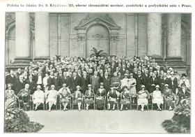 La troisème édition de l'IUGG en 1927, photo: Prague Convention Bureau