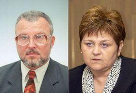 Jozef Kubinyi and Marie Souckova, photo: CTK