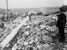 Destruction of Lidice, photo: Czech Television
