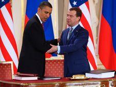 Барак Обама и Дмитрий Медведев, фото: Томаш Адамец, ЧРо