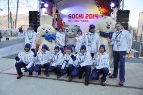 Czech athletes in Sochi, photo: CTK