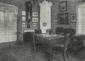 Комната Тургенева в Карлсбаде, Фото: открытый источник