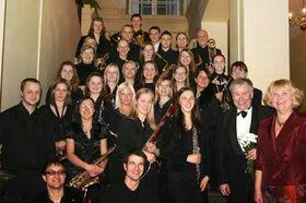 Оркестр «University of Latvia Wind Band», Фото: Архив ULWE