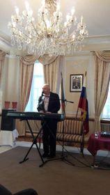 Творческий вечер Яна Буриана в Генеральном консульстве Чехии в Санкт-Петербурге, фото: Мария Хробакова