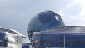 Астана, павильон Нур Алем, Фото: Роберт Миколаш, Чешское радио