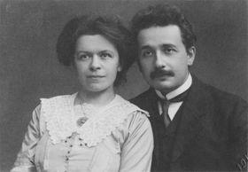Albert and Mileva Einstein (1912), photo: Public Domain