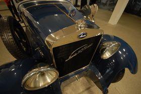 Историческое авто после капитального ремонта на заводе «Шкода», Фото: Архив Эвы Туречковой
