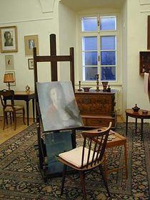 Atelier von Ludmila Jiřincová (Foto: Autorin)