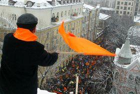 Демонстрация в Украине (Фото: ЧТК)