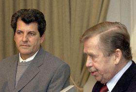Oswaldo Payá Sardiñas y Vaclav Havel en Praga, 2003 (Foto: CTK)