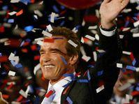 Arnold Schwarzenegger se stal guvernérem amerického státu Kalifornie, foto: ČTK