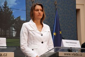 Hana Stelzerová, photo: archive of Czech Women's Lobby